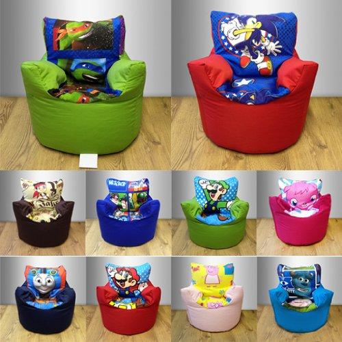 Sitzsack-Stuhl für Kinder, mit Aufdruck auf Mittelteil, Motiv Star ...