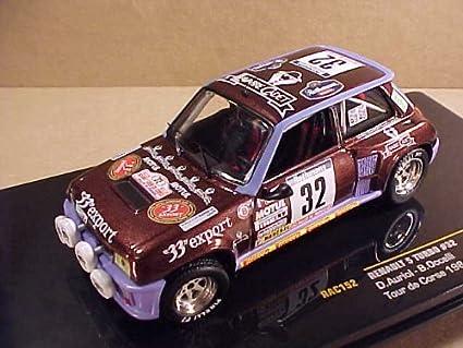 Ikuso 1/43 Renault 5 turbo 84 Tour de Corse # 32 D.Auriol