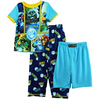 Lego Chima Boys Blue 3 pc Pajamas Set (4/5)