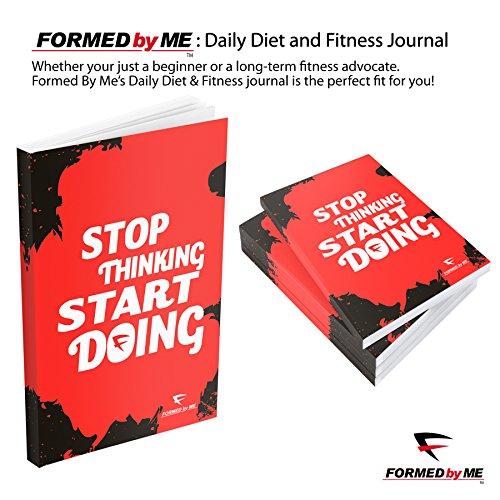 daily diet and fitness journal workout log book nutrition