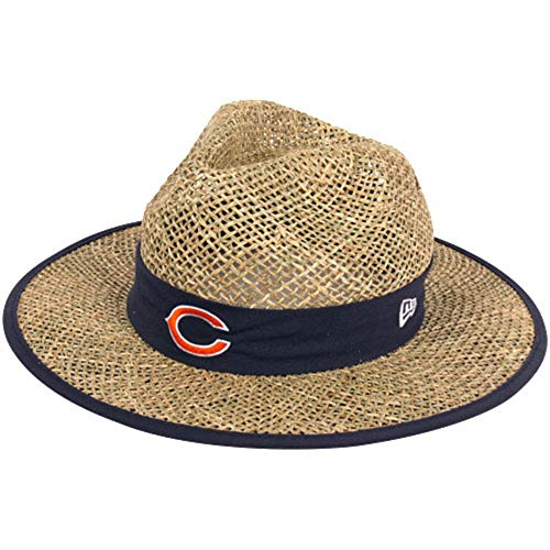 Bears Camp Training - New Era Men's NFL Natural On Field Training Camp Hat (Chicago Bears)