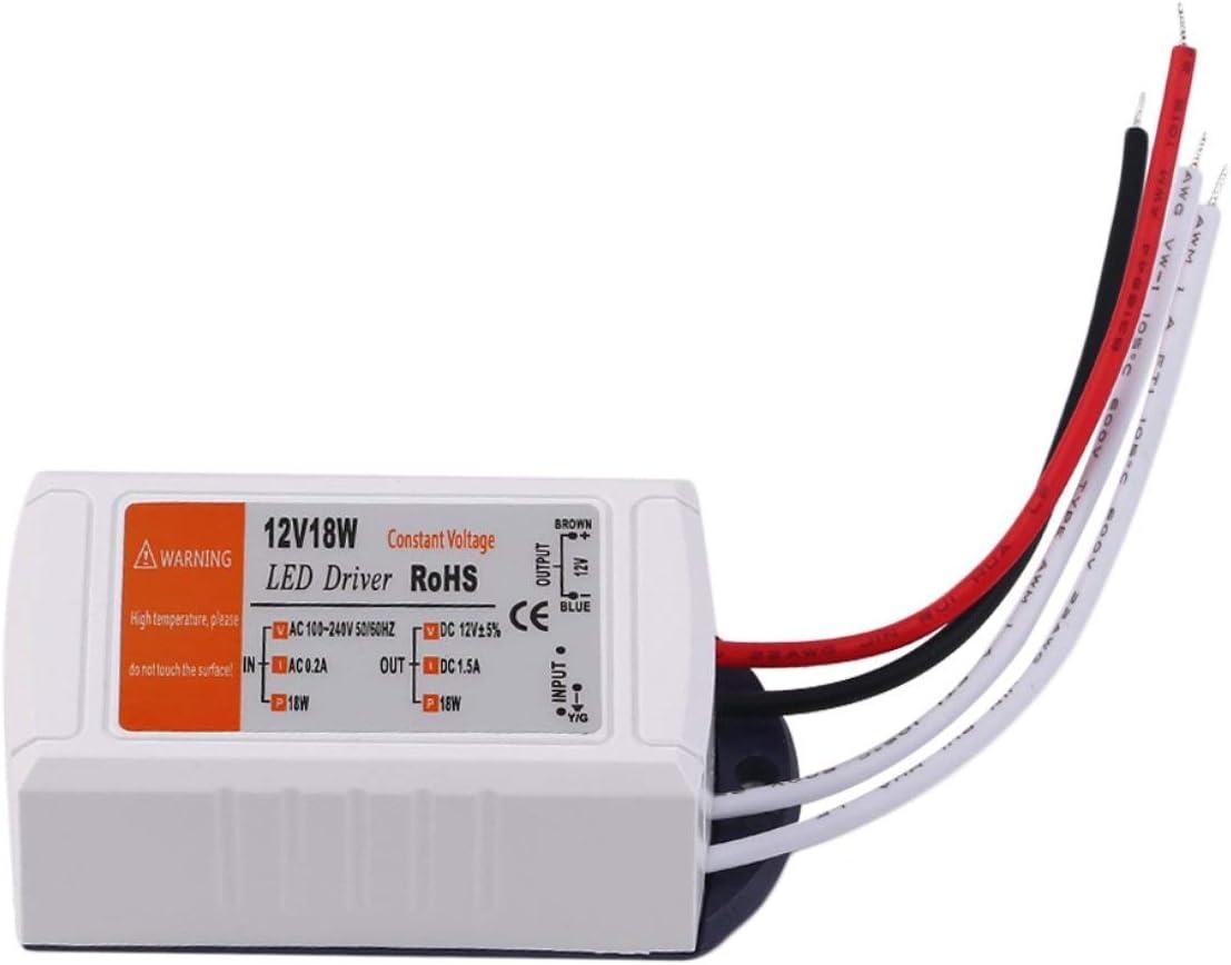 MEXCO 18W/28W/48W/72W/100W Power Supply DC 12v LED Driver Adapter Transformer Switch Output 100V-240V For LED Strip