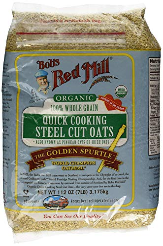 Bob's Red Mill Sujyh Quick Cooking 100% Whole Grain Oats, 112 Ounce - 4 Pack by Bob's Red Mill (Image #1)
