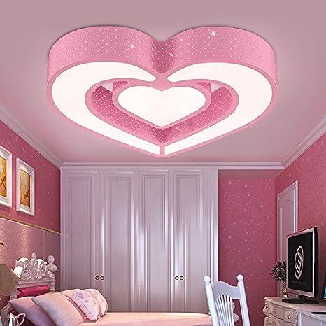 Lilamins Románticas Love-Led Tarjeta Plafón de iluminación ...
