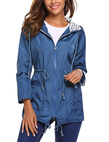 monogram rain coats for women - 6