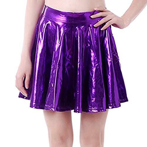 Tutu In A line Donna Gonna A Dal Pelle Vovotrade Del Svasate Moda Costumi Pieghe Viola Festival Palco Performance Dancewear QxrdCBEoeW