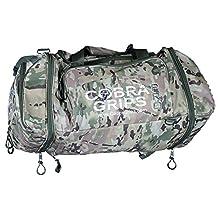 Sport Large Best Gym Duffle Bag Wet Dry Storage Cobra Grips Grip Power Pads (Camo)