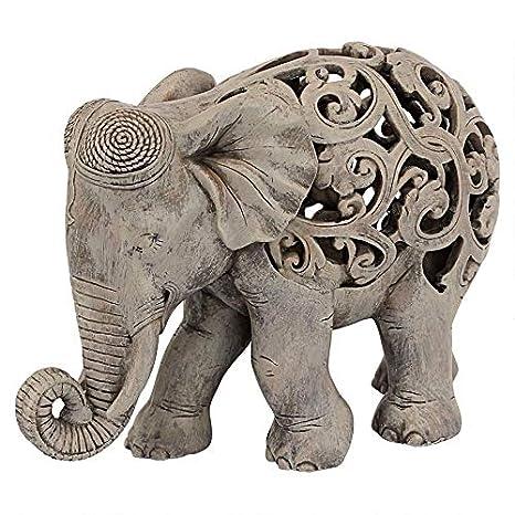 Buy Design Toscano Anjan The Elephant Indian Decor Jali