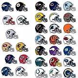 4 Pack Carolina Panthers Die Cut Stickers NFL Football Helmet Logo Sticker Team Set