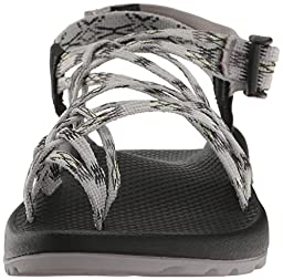 Chaco Women\'s ZX3 Classic Athletic Sandal, Lime Gray, 9 M US