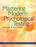 img - for Mastering Modern Psychological Testing: Theory & Methods book / textbook / text book