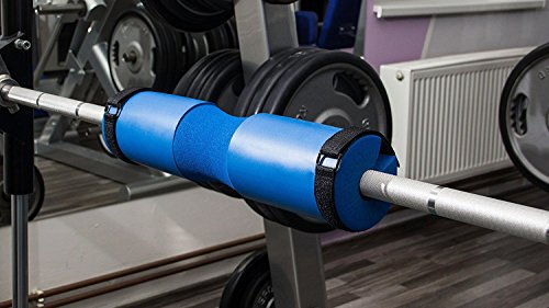 Squat Pad Bar Pad for Hip Thrusts Weight Lifting Lunges Most Comfortable Bar Pad with Velcro Straps for Weight Lifting Neck Shoulder Protective Pad