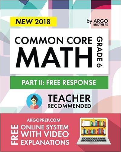 Argo Brothers Math Workbook, Grade 6: Common Core Math Free ...