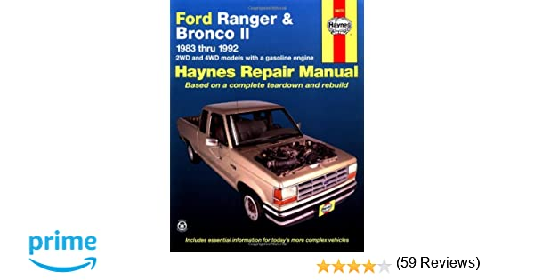 Haynes automotive repair manual ford ranger bronco ii 1983 haynes automotive repair manual ford ranger bronco ii 1983 thru 1992 haynes repair manuals haynes 0038345010262 amazon books fandeluxe