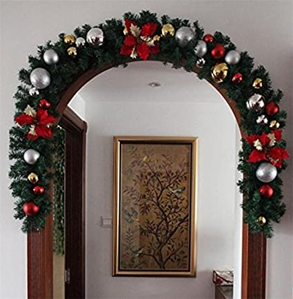 christmas garland pine tree indoor christmas decoration - Indoor Christmas Decorations Amazon