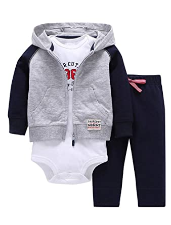 Pants Autumn Winter Clothes Outfits 0-18 Months ARAUS Newborn Baby Coat Jacket Romper