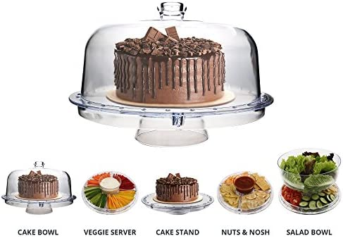 Homeries Multi Purpose Cake Stand Dome product image