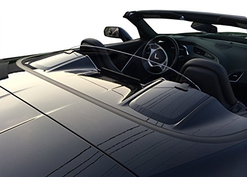 - WindRestrictor Convertible Wind Deflector Compatible with 2014-2018 Chevrolet C7 Corvette Stingray - Control air flow, cut down backdraft, wind noise - Patented - Easy Install, Secure Mounting - Clear