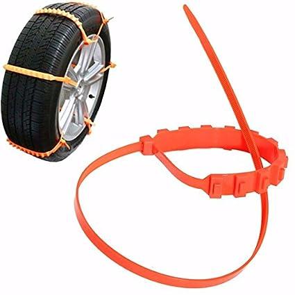 Stallion® antideslizante cadenas para automóviles nieve barro rueda neumático coche/camión neumático cable ties
