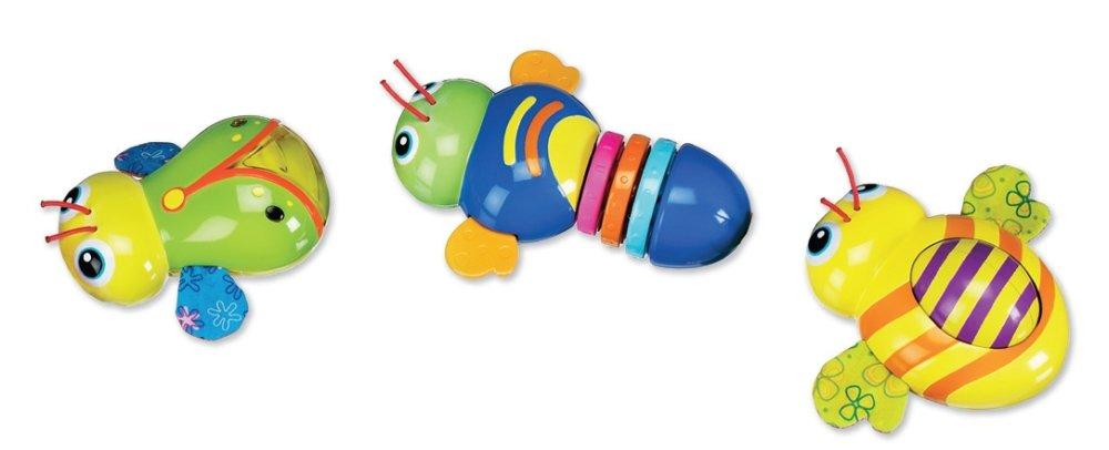 munchkin マンチキン おもちゃ バギィーズ バリバリ、くるくる、ピッカピッカ おもしろ虫さん   B001I45F84