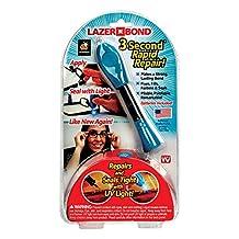As Seen on TV Lazer Bond 3 Second Fix- UV Light Repair Tool Liquid Plastic Weld