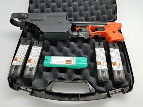 JPX 2 Shot LE Firestorm Pepper Spray Gun Bundle with tac Light Holster by FireStorm