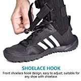 fibee Foot Up Brace for Walking Soft Adjustable AFO
