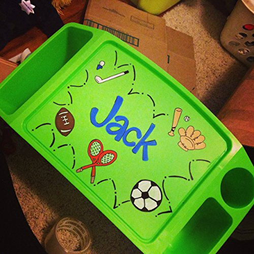Hand Painted Lap Tray- Sports