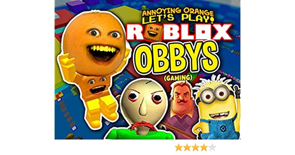 Roblox Save Lightning Mcqueen 2 Cars 3 Obby Annoying Watch Clip Annoying Orange Plays Roblox Obbys Gaming Prime Video