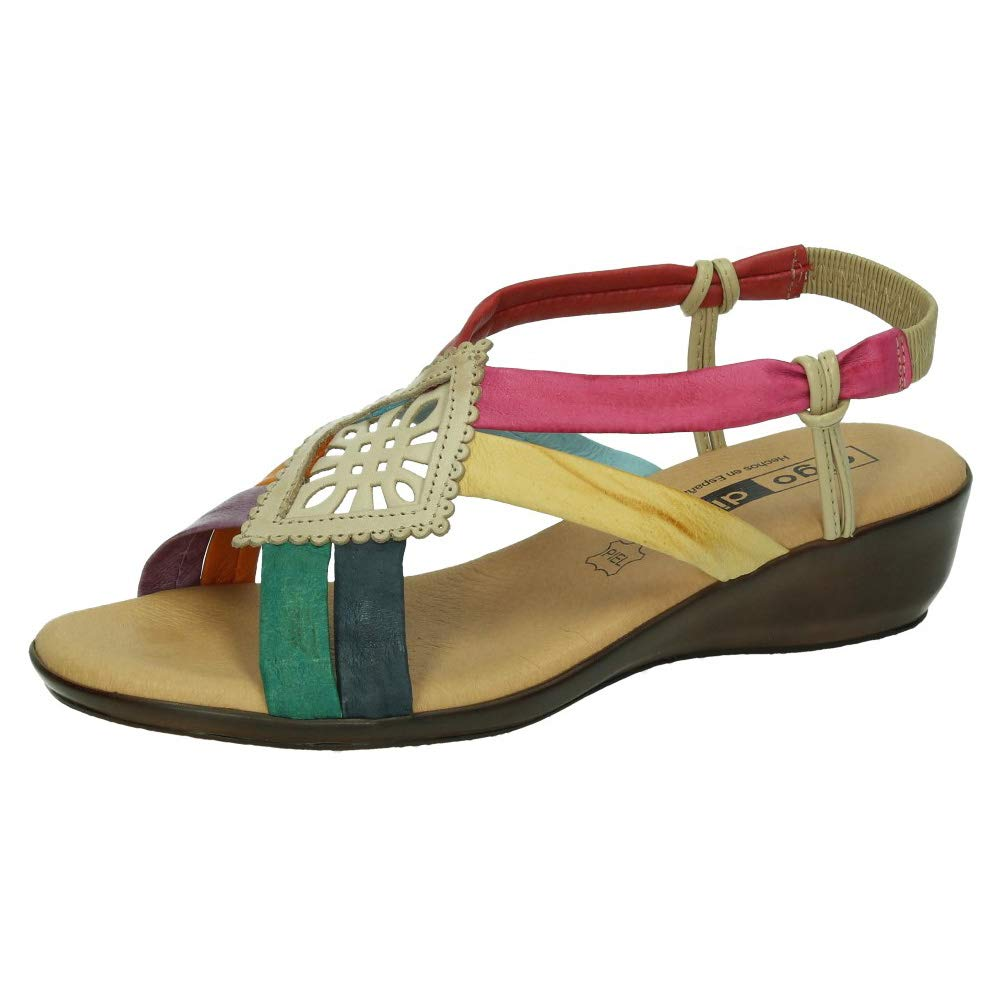 f0b3e96279c MADE IN SPAIN 1319 Sandalias COLORINES Mujer Sandalias  Amazon.es  Zapatos  y complementos
