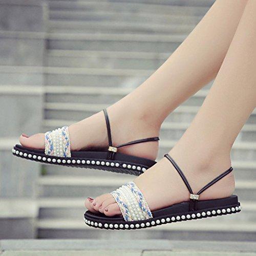 Fashion Estate Il Sandali Peep Toe Womens Per Interni Spiaggia Piatti 2017 Da Crystal Bianco Scarpe Outdoor Sandals Girls Tempo Libero Bohemia Pantofola Ladies Clode fwtwFpq
