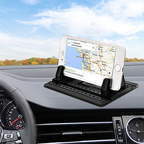 Car Phone Holder, Vansky Car Phone Mount Silicone Dashboard Car Pad Mat for iPhone X/8 Plus/7 Plus/6/6S Plus, Samsung Galaxy S8 Plus/Note 8/S7 3.5-7 inch Smartphone or GPS Devices by Vansky (Image #6)