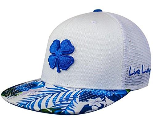 ブラッククローバー新しいTropical Luck # 3ロイヤルブルー/ホワイト調節可能なFlatbill Hat/キャップ