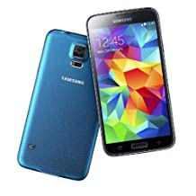 Samsung Galaxy S5 G900F 4G LTE 16GB Unlocked GSM Android Cell Phone - Blue