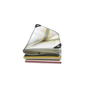 Love Home Cubierta de Polvo al Aire Libre de la Lona Lona plástica Impermeable de la Lona del Aislamiento de la Lona 2-10m (Tamaño : 6 * 10m): Amazon.es: ...