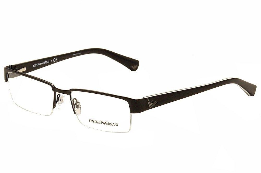 Amazon.com: Emporio Armani EA 1006 Men\'s Eyeglasses Black 53: Health ...