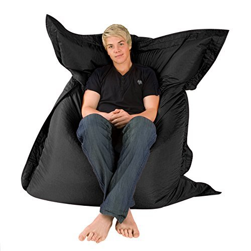 Amazon.com: Hi-BagZ – Puff gigante tipo tumbona para ...