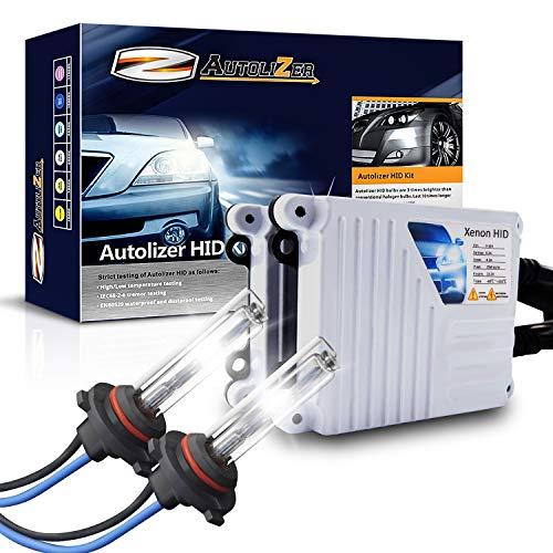 Autolizer 55W Xenon HID Lights [9005 9055 H12-6000K Pure White]