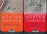 Agatha Christie Collection Boxed Set (Evil Under the Sun; Murder in Mesopotamia; A murder is Announced; The Body in the Libary)