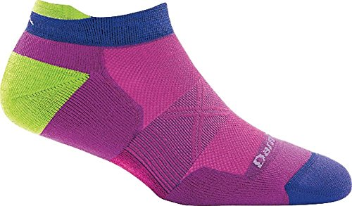 Darn Tough Vertex No Show Tab Ultra-Light Cushion Sock - Women's Clover Small by Darn Tough