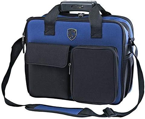 道具袋 プロフェッショナル電動工具ショルダーバッグ、工具収納ハンドバッグテクニシャンバッグショルダーストラップ付属 ツール収納袋 (色 : 青, Size : One size)