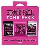 Ernie Ball Super Slinky Electric Tone Pack - 9-42 Gauge