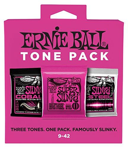 Ernie Ball Super Slinky Electric Guitar String Tone Pack (3333)