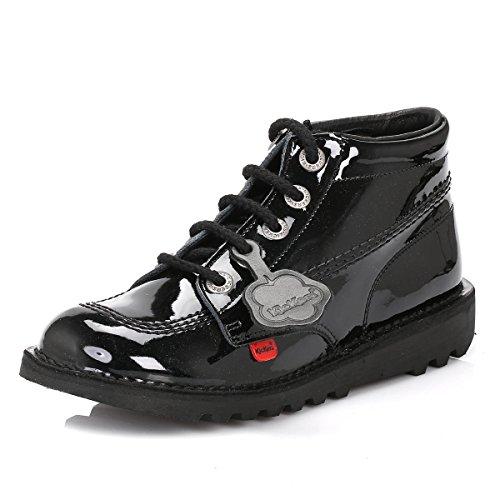 pied à Search verni Genuine enfants noir pour We haute You Kickers Bottes verni chaussures Save 36–39 Taille Noir 0AqwdY