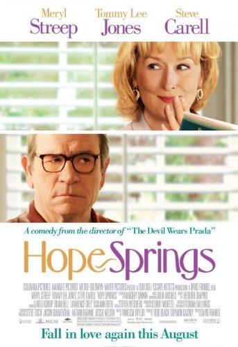 HOPE SPRINGS MOVIE POSTER 1 Sided ORIGINAL Version B 27x40 MERYL STREEP (Meryl Streep Tommy Lee Jones Steve Carell)