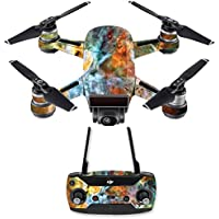Skin for DJI Spark Mini Drone Combo - Space Cloud| MightySkins Protective, Durable, and Unique Vinyl Decal wrap cover | Easy To Apply, Remove, and Change Styles | Made in the USA