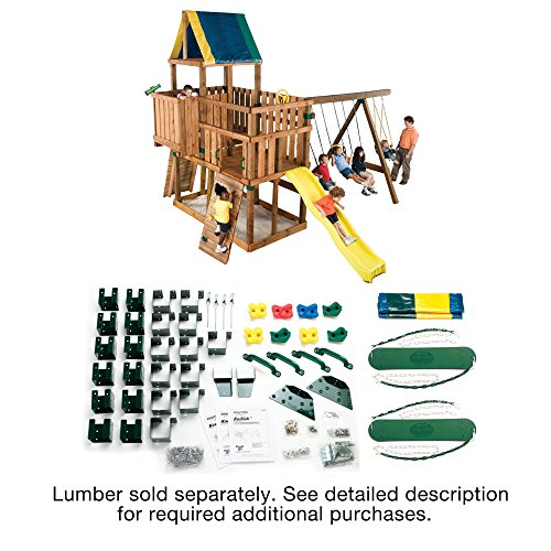 032866050103 - Kodiak Custom Play Set Hardware Kit (wood not included) carousel main 1