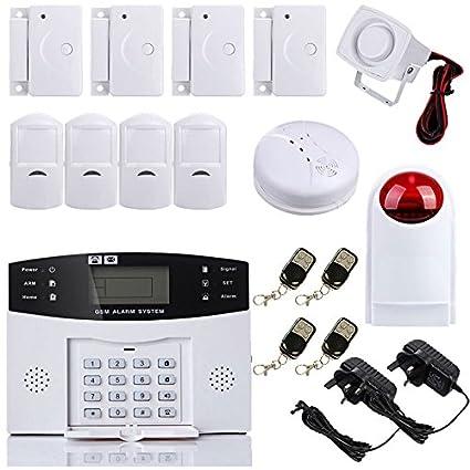 security4u XF Antirrobo Sistema de Alarma de Seguridad Inalámbrica GSM autodial Call home House Intruder Host