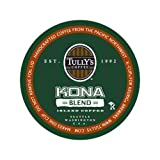 Tully's Coffee Kona Blend Extra-Bold, 24-Count K-Cups for Keurig Brewers (Pack of 2)