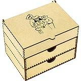 Azeeda 'Goldilocks & The Three Bears' Vanity Case / Makeup Box (VC00005876)